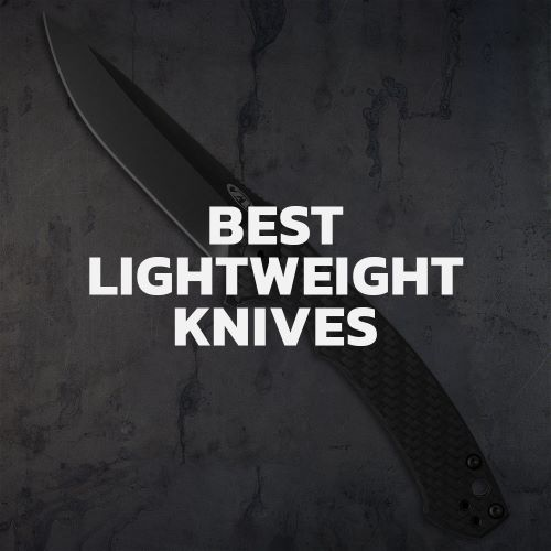 Lightweight Must-have Knives.