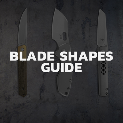 Types of blade shapes