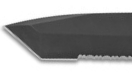 Tanto dive knife blade