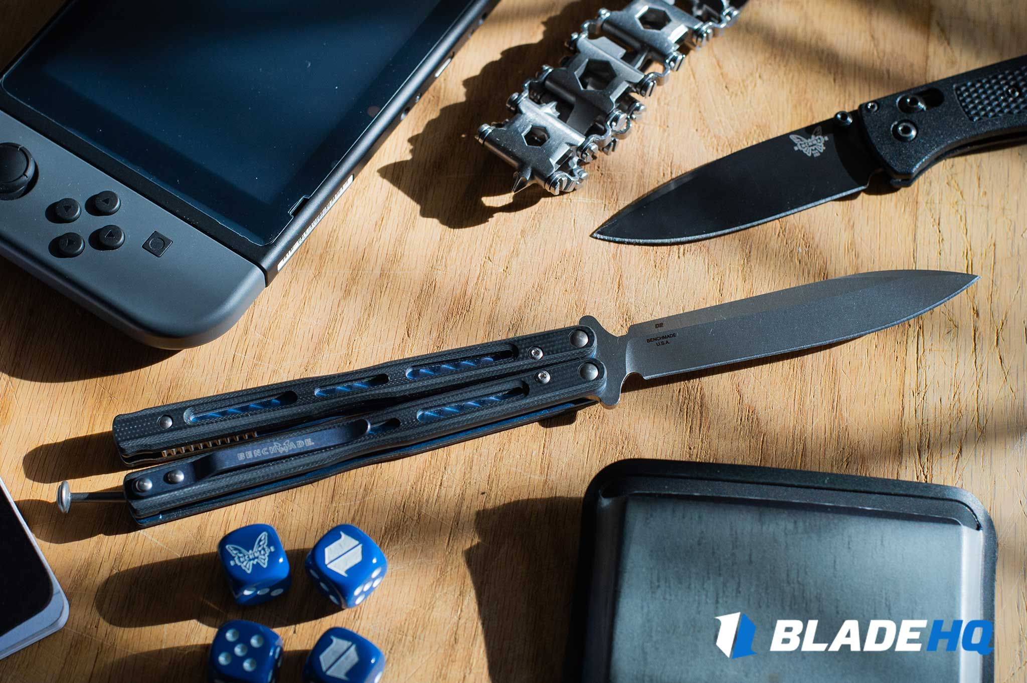 Benchmade 51 Morpho Knife Materials