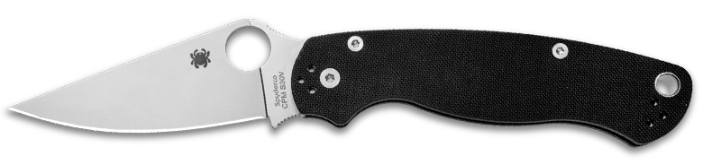 Spyderco Paramilitary 2 Knife, Best American Made Knives
