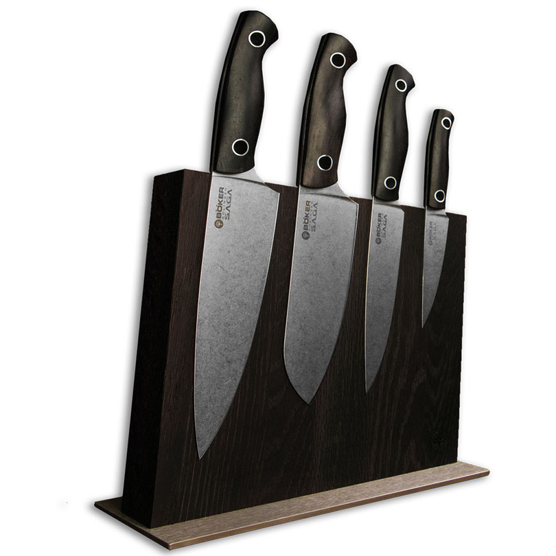 Boker Vox Saga 5-Piece Kitchen Knife Set