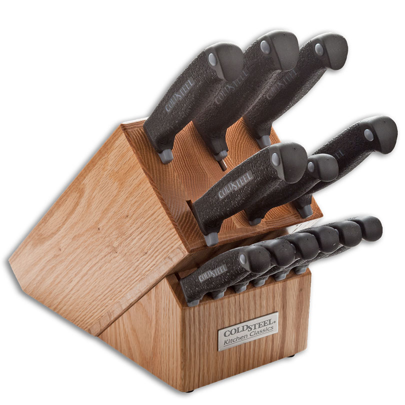 Cold Steel Kitchen Classics 13 Piece Knife Set