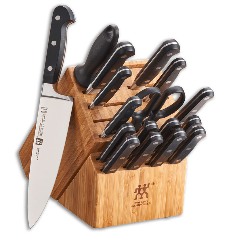 Zwilling Professional S 18-Piece Kitchen Knife Set