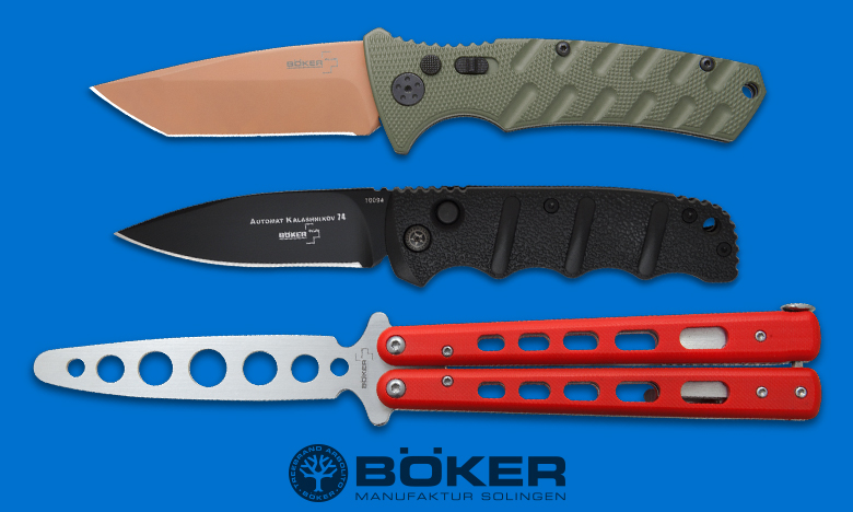 Boker Top Knife Brand