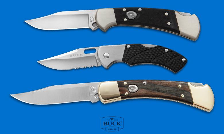 Buck Top Knife Brand