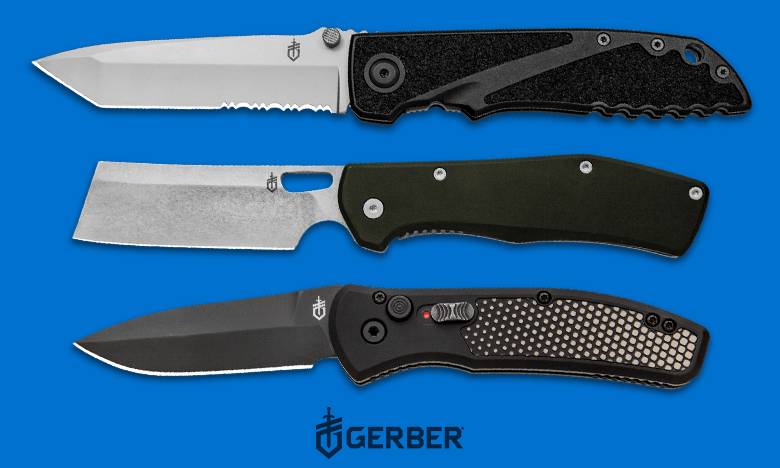 Gerber Top Knife Brand