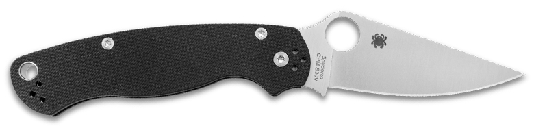 Best Left Hand Knives - Spyderco Paramilitary 2 LH