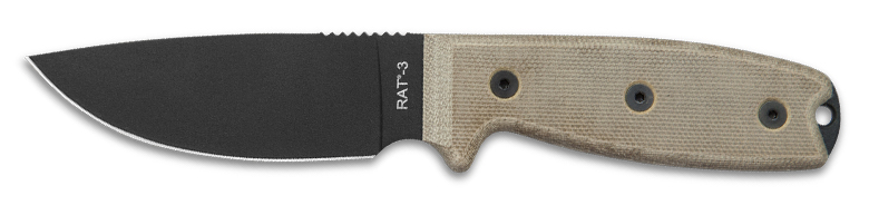 Ontario RAT 3 Camping Knife