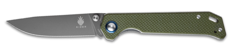 Kizer Begleiter Green Knife