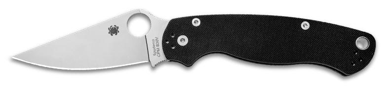 Spyderco Paramilitary 2 Black Knife