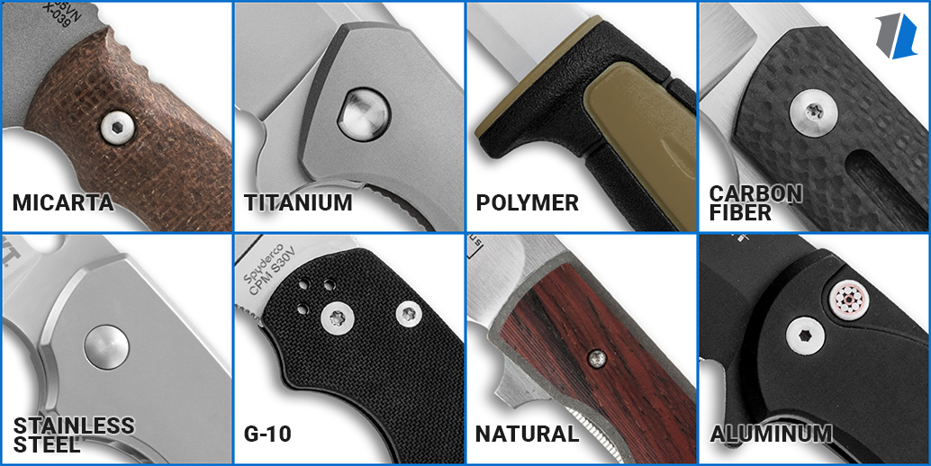 Best Knife Handle Materials