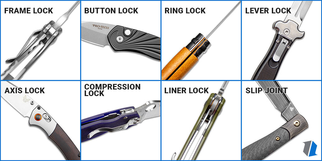 Knife Lock Types Chart