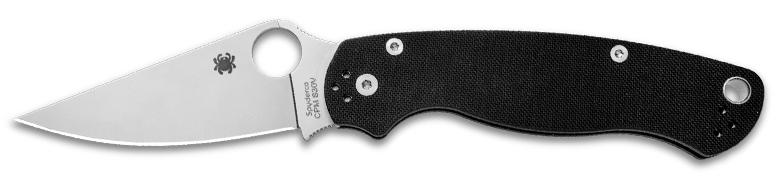 Spyderco Paramilitary 2 Knife Black