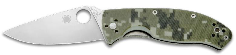 Spyderco Tenacious Knife Camo G-10