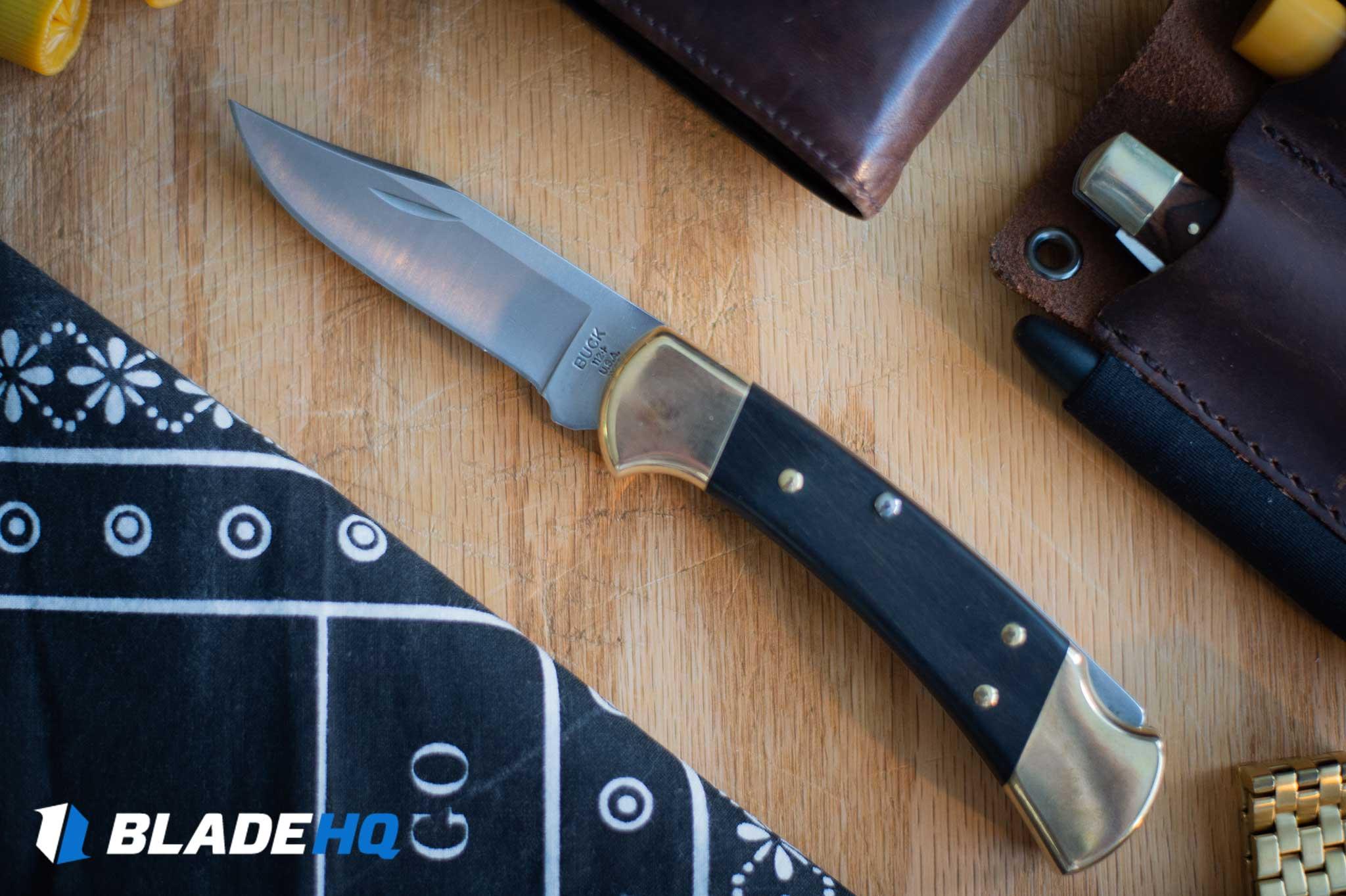 Buck 112 Knife Ergonomics