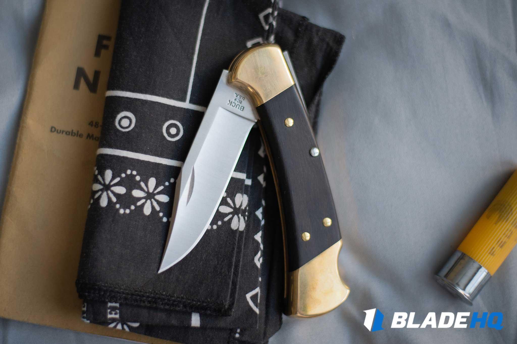 Buck 112 Knife Deployment/Lockup