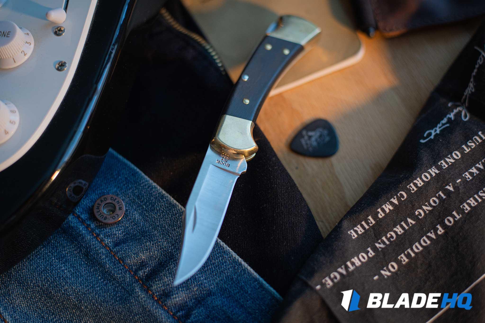 Buck 112 Knife Materials