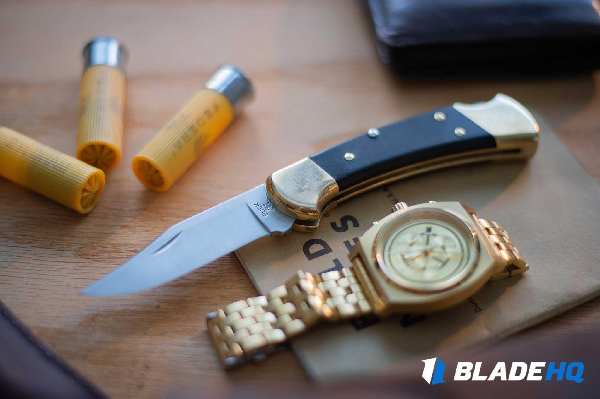 Buck 112 Knife Cut Test
