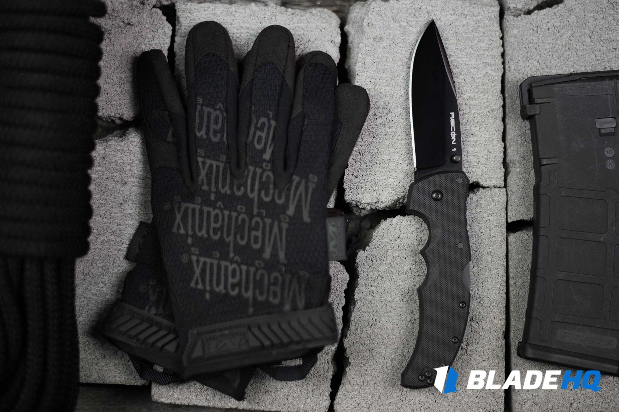 Cold Steel Recon 1 Knife Materials