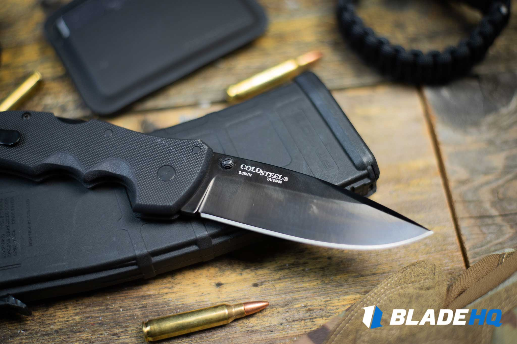 Cold Steel Recon 1 Knife Blade/Sharpening