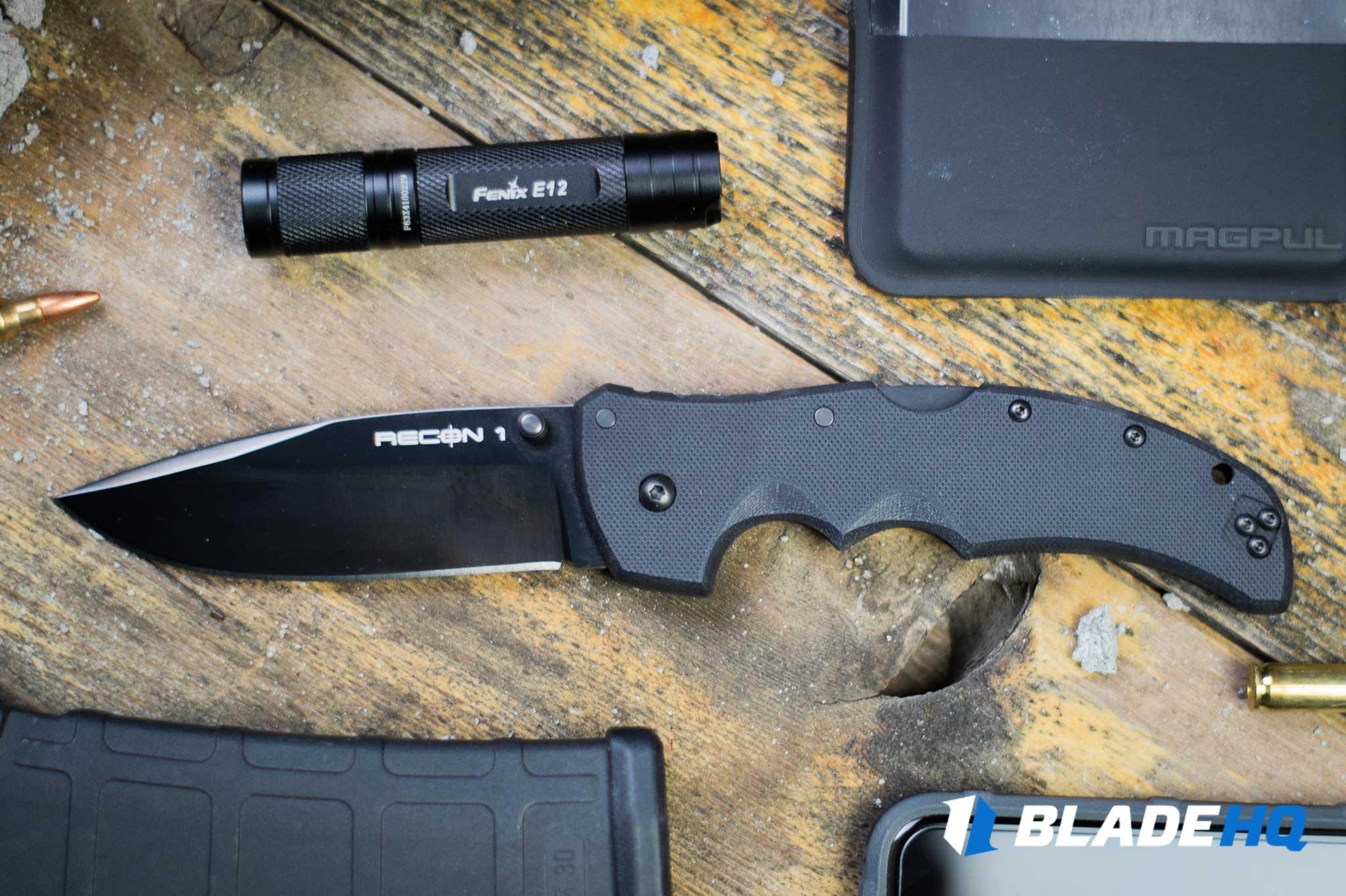 Cold Steel Recon 1 Knife Ergonomics