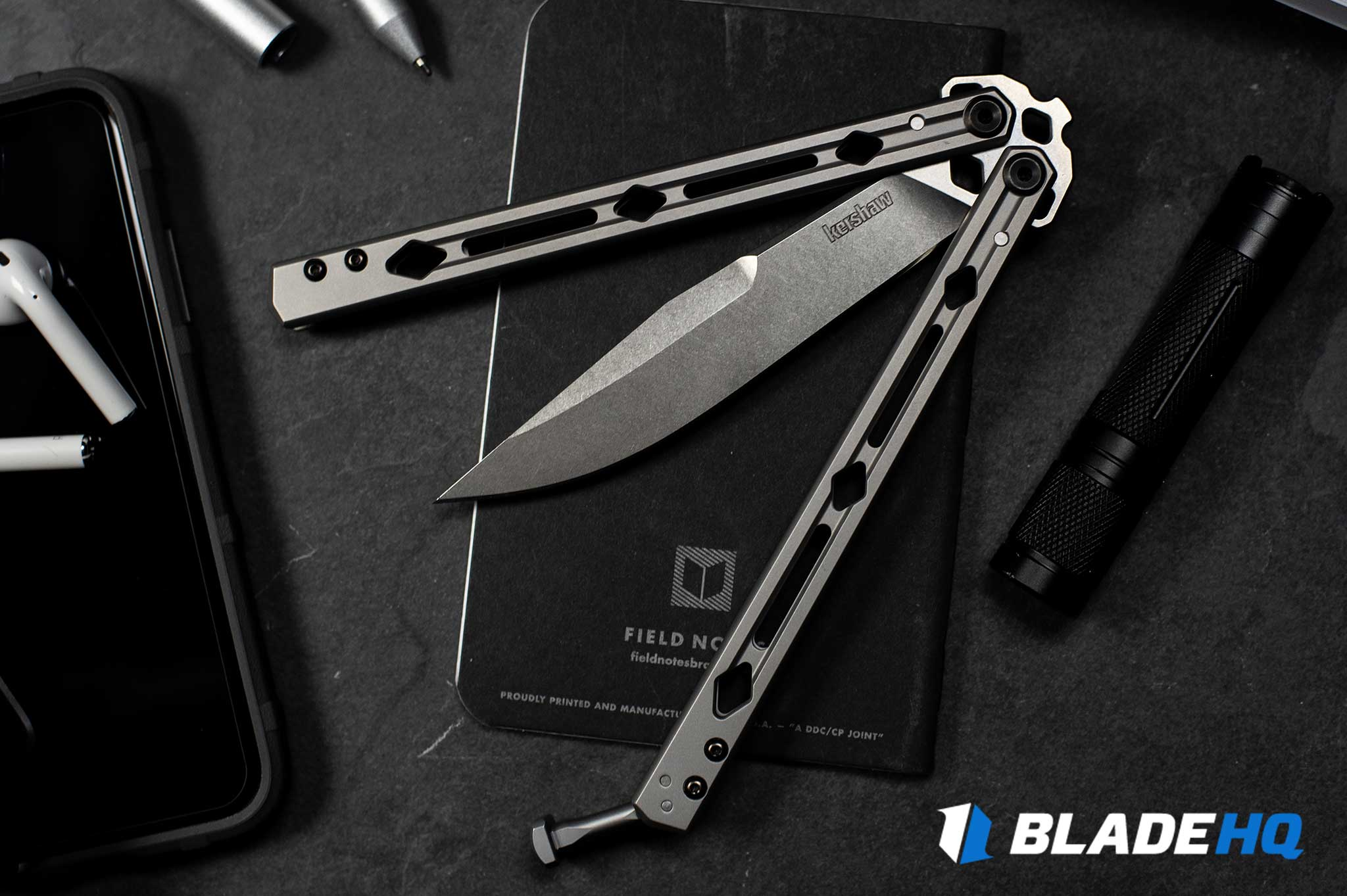 Kershaw Lucha Knife Fit and Finish