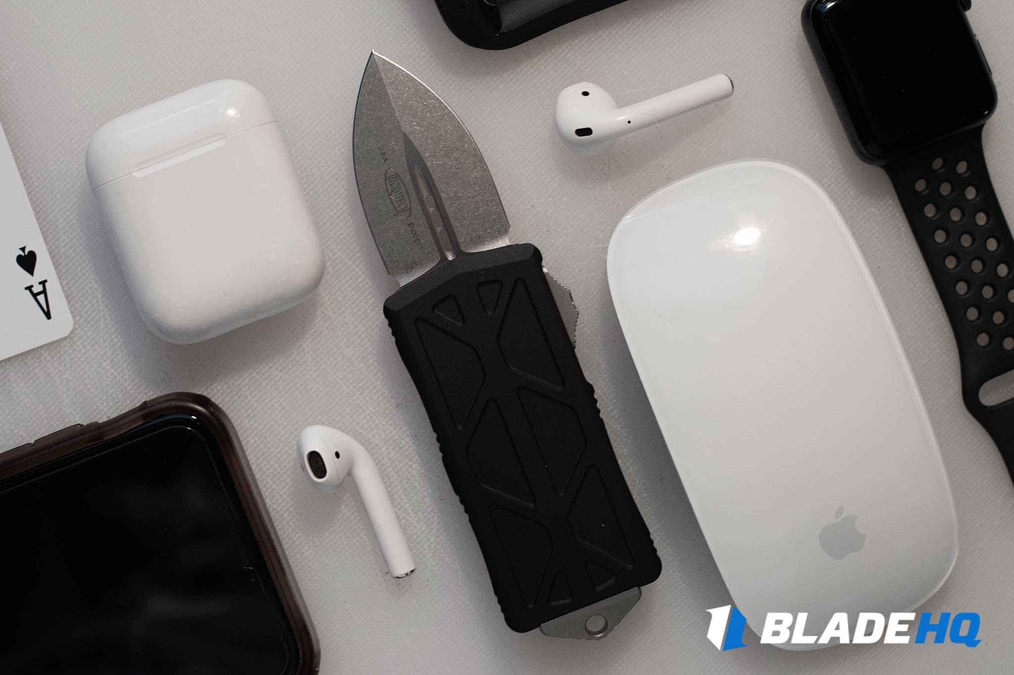 Microtech Exocet Knife Ergonomics