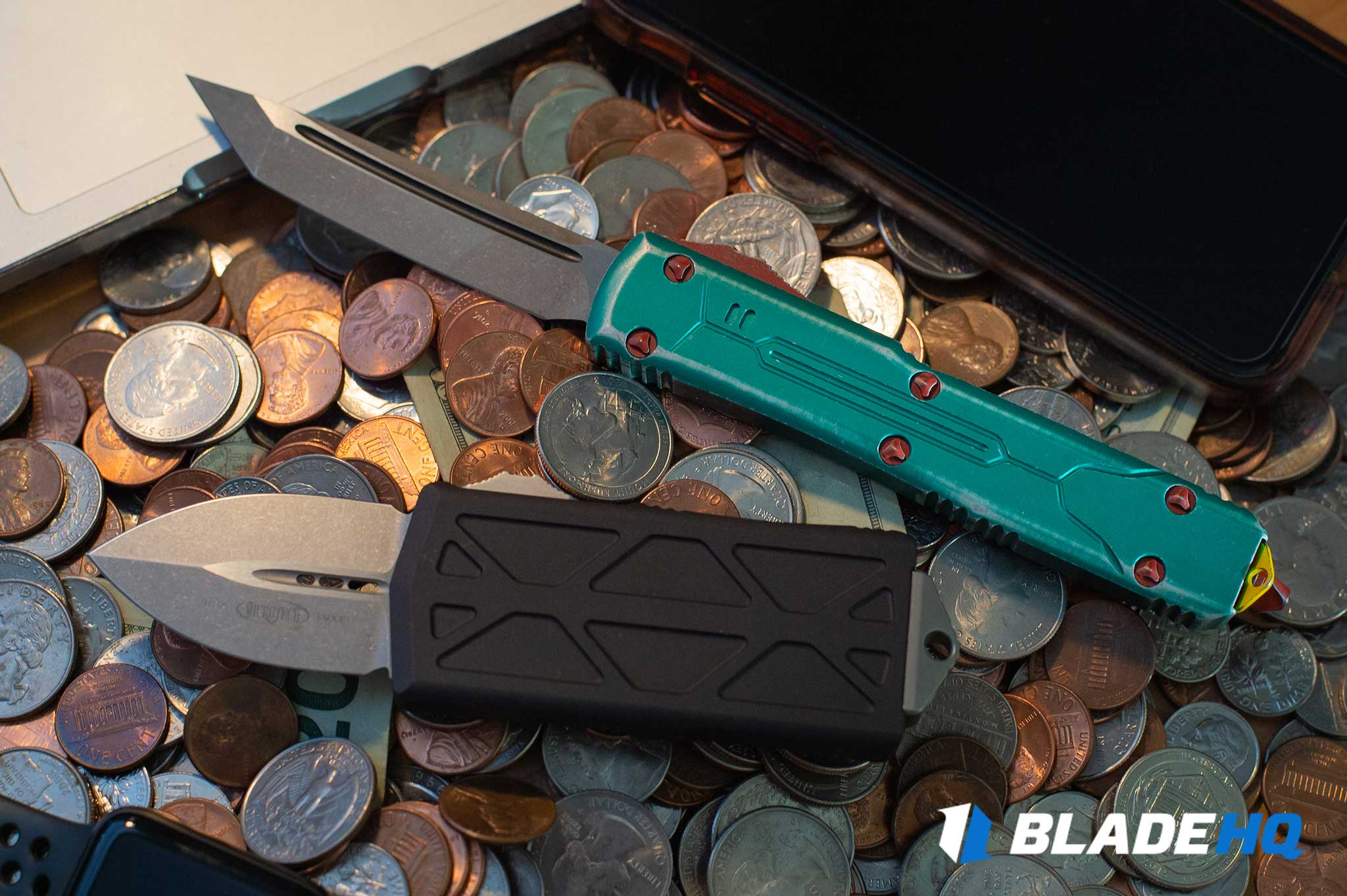 Microtech Exocet Knife Deployment/Lockup