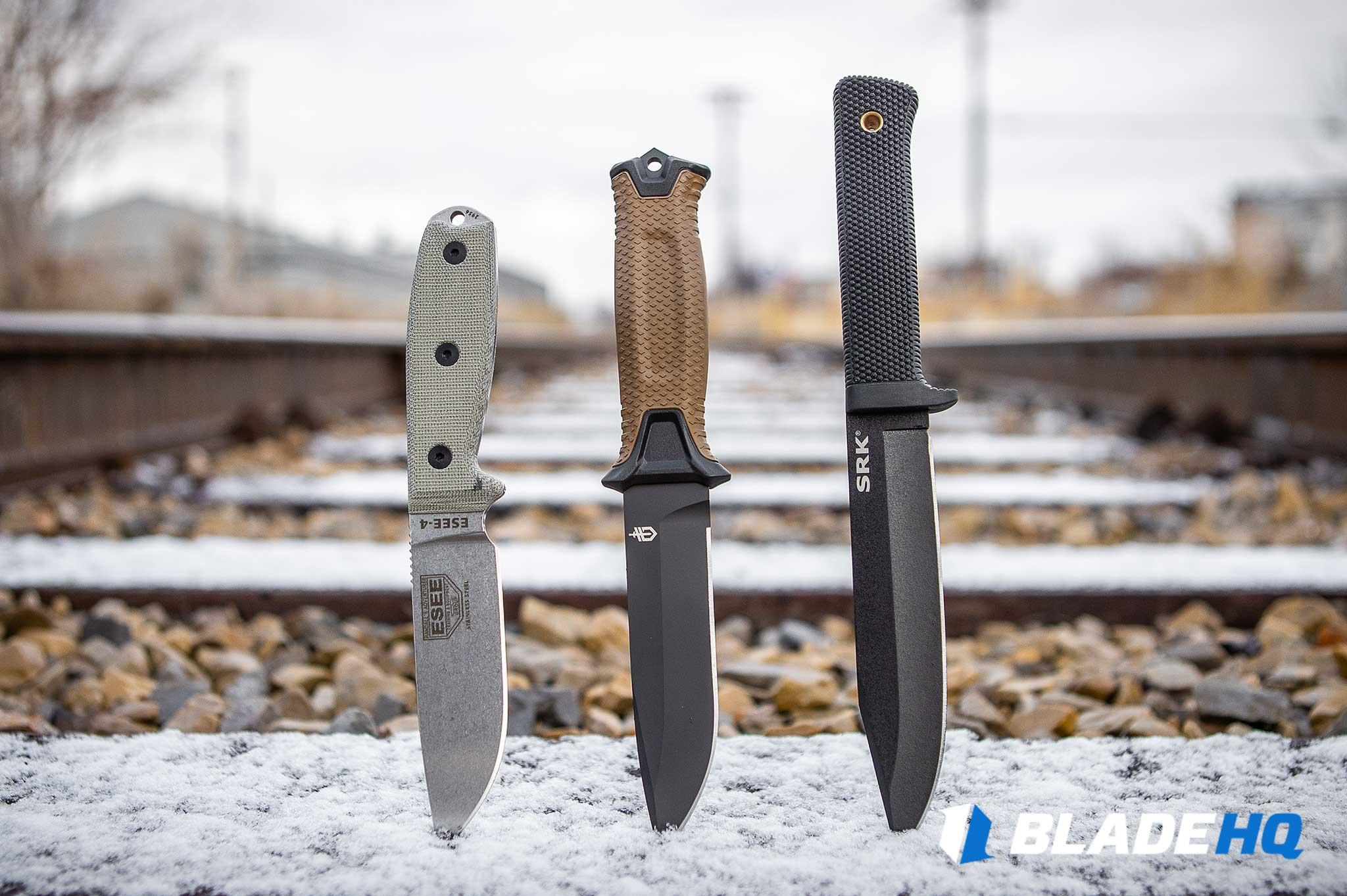 Survival Knives - Materials