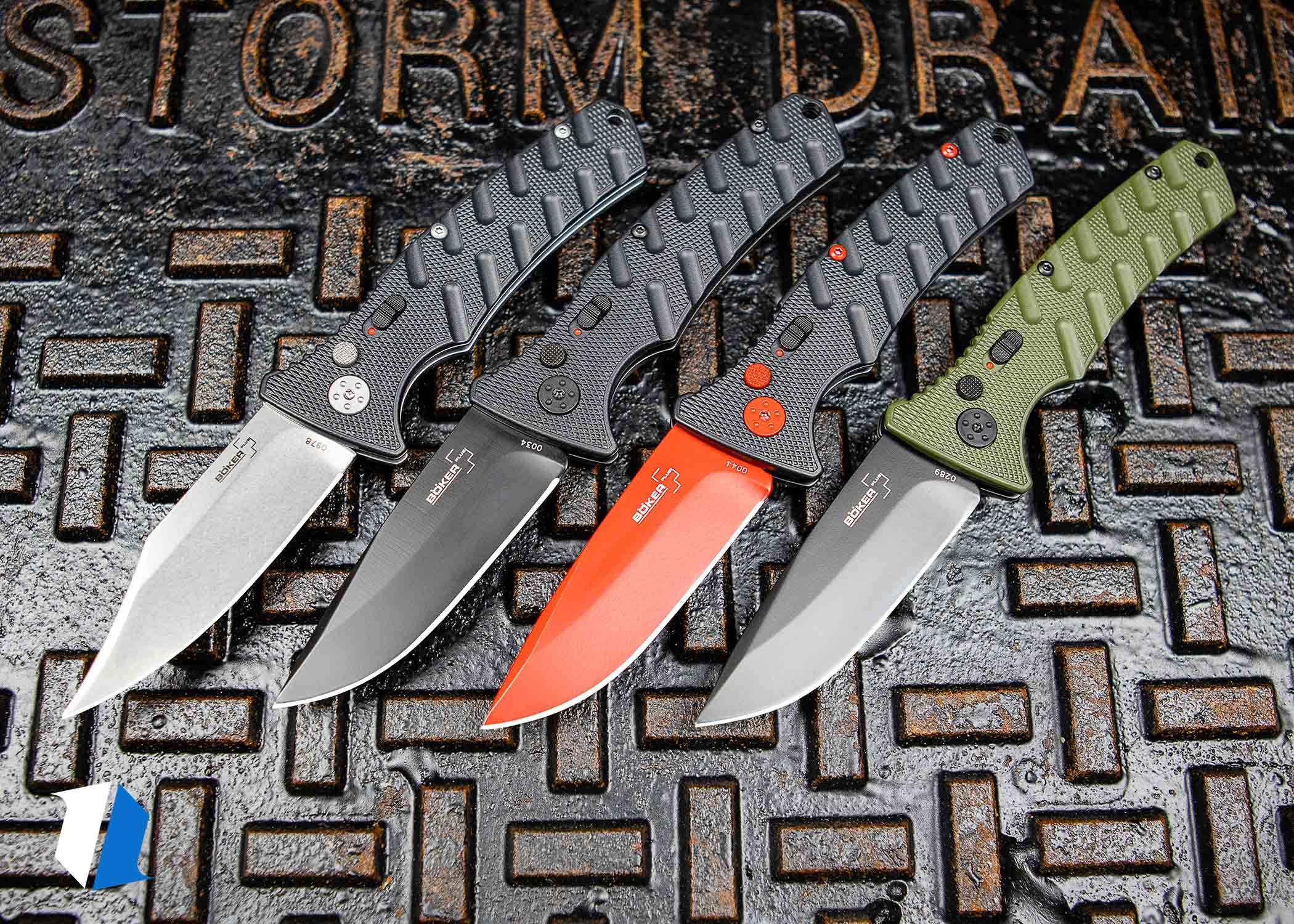 Boker Strike Materials