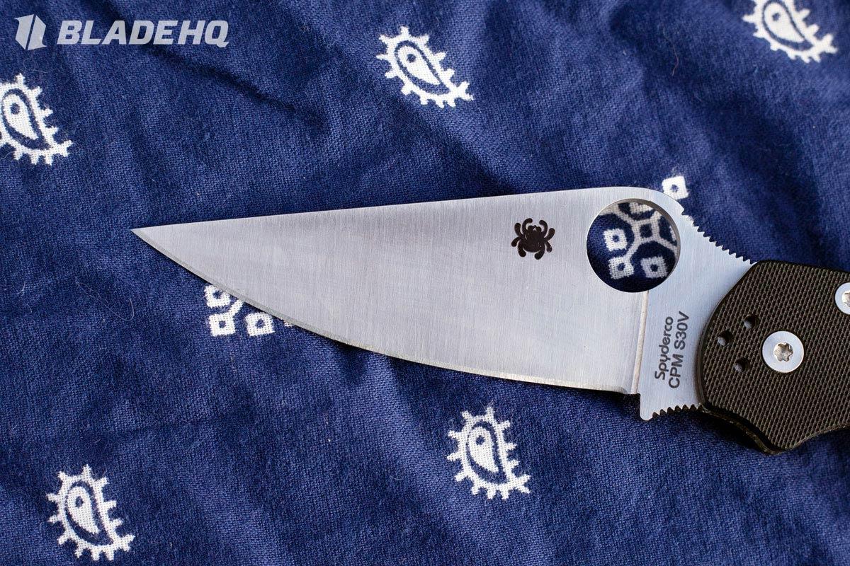 Spyderco Paramilitary 2 Blade