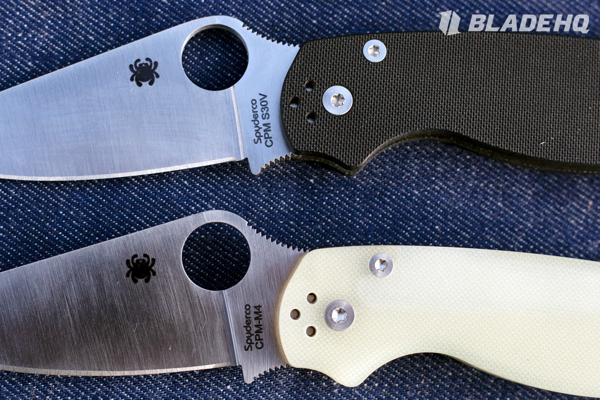 Spyderco Paramilitary 2 Fit and Finish