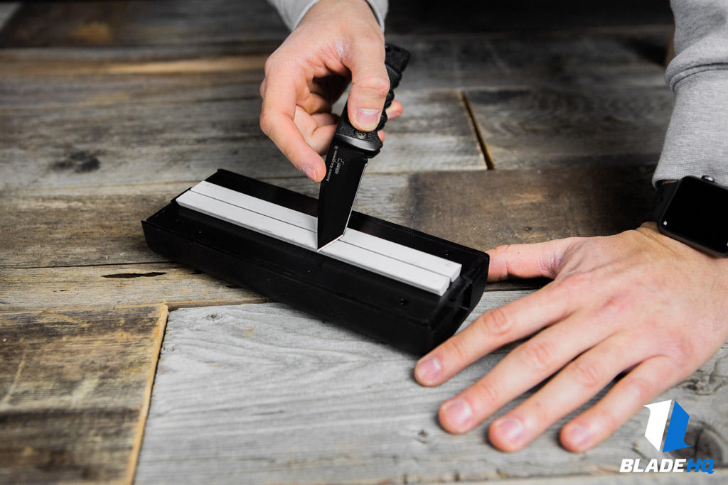 Spyderco Sharpmaker Flat Sharpening