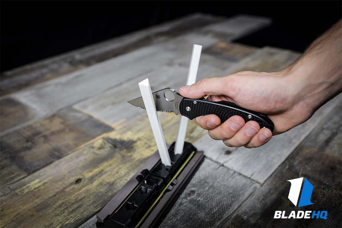 Spyderco Sharpmaker Sharpening 1