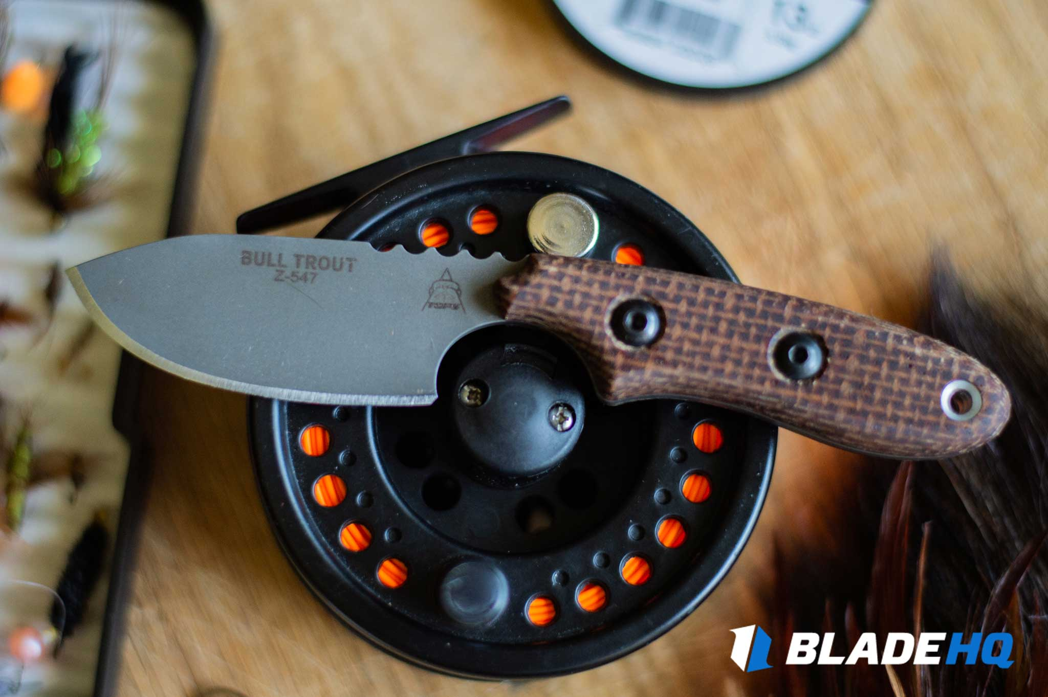 TOPS Knives Bull Trout Fit and Finish