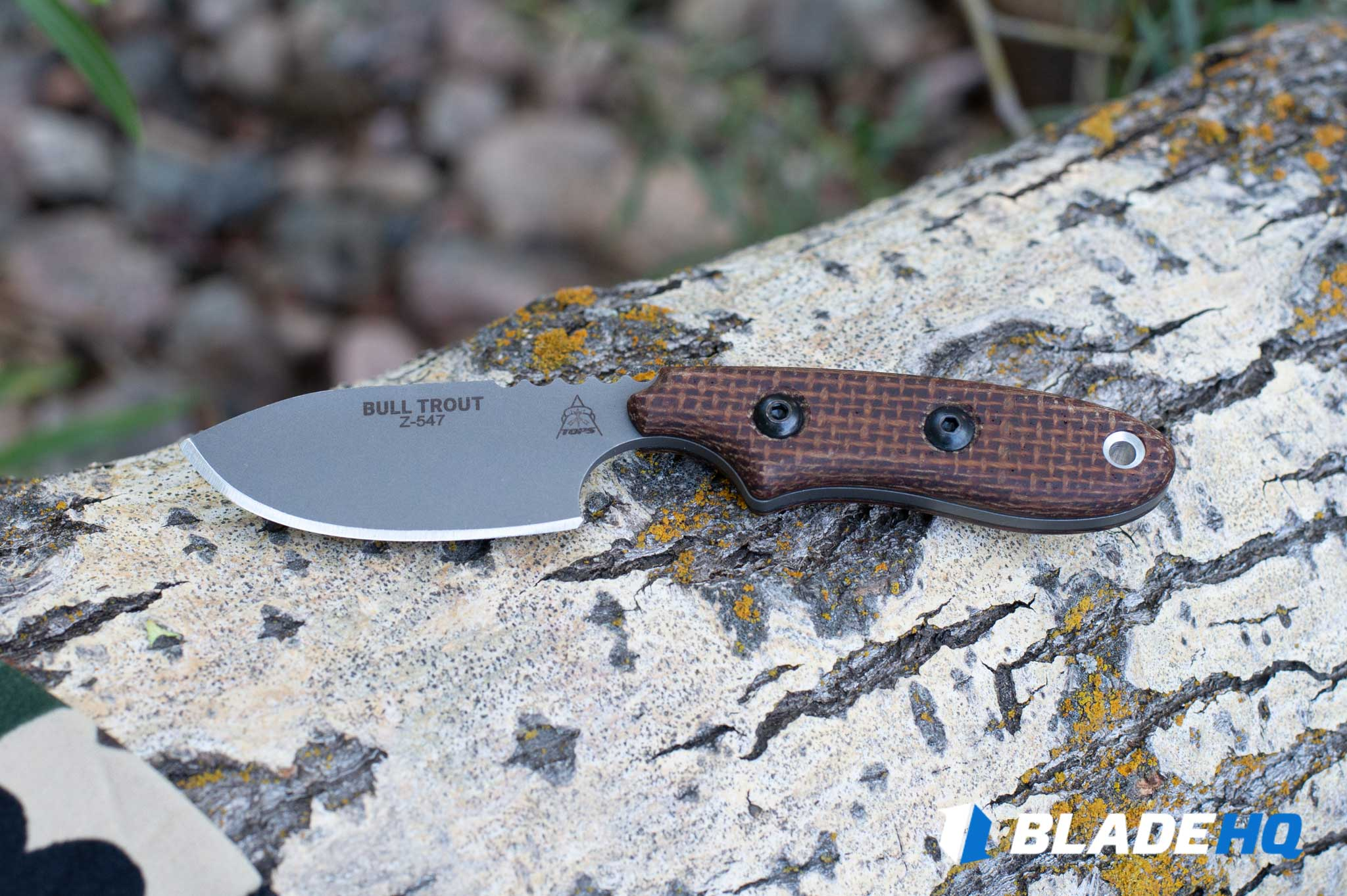 TOPS Knives Bull Trout Importance