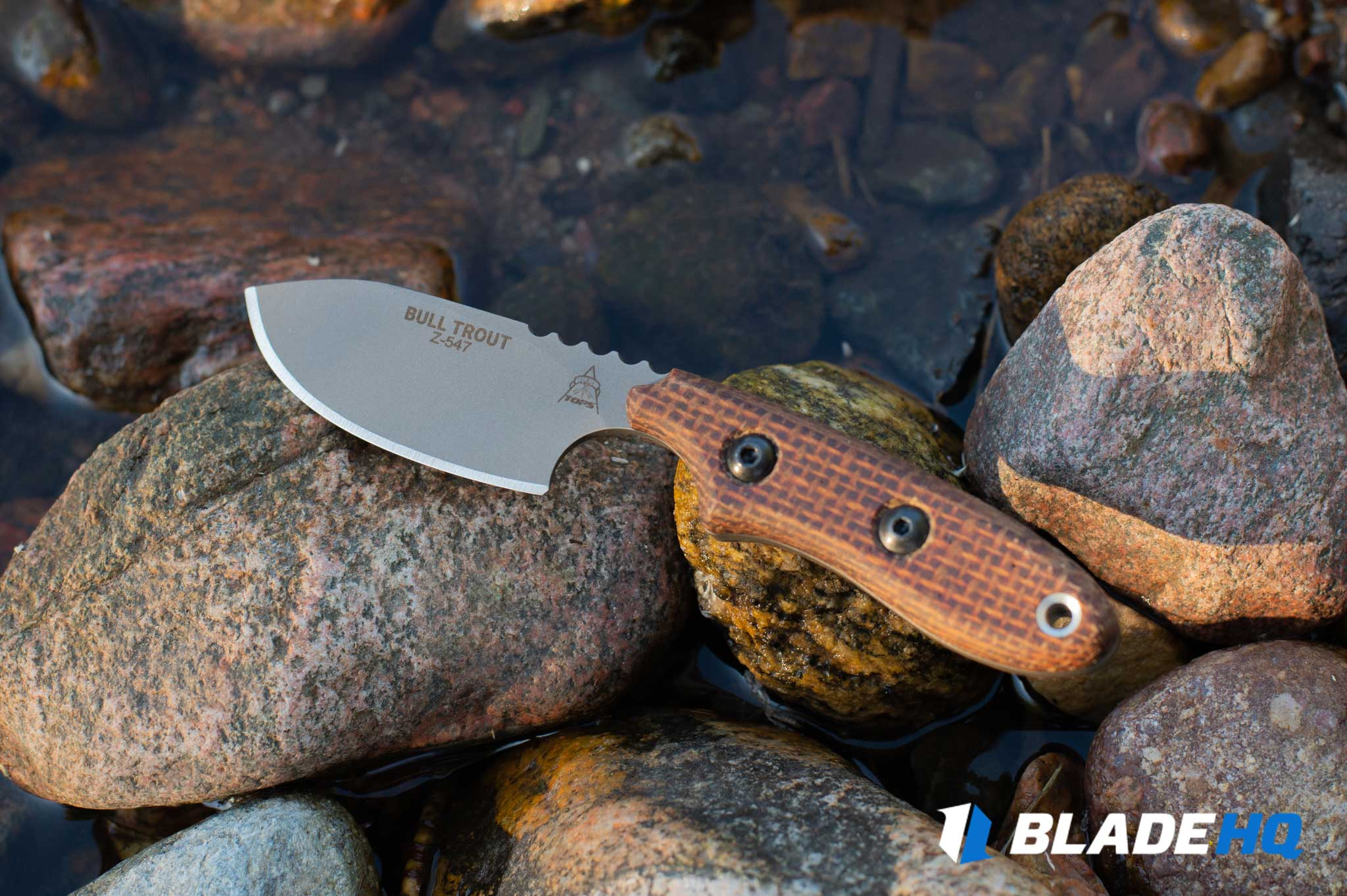 TOPS Knives Bull Trout Look and Style