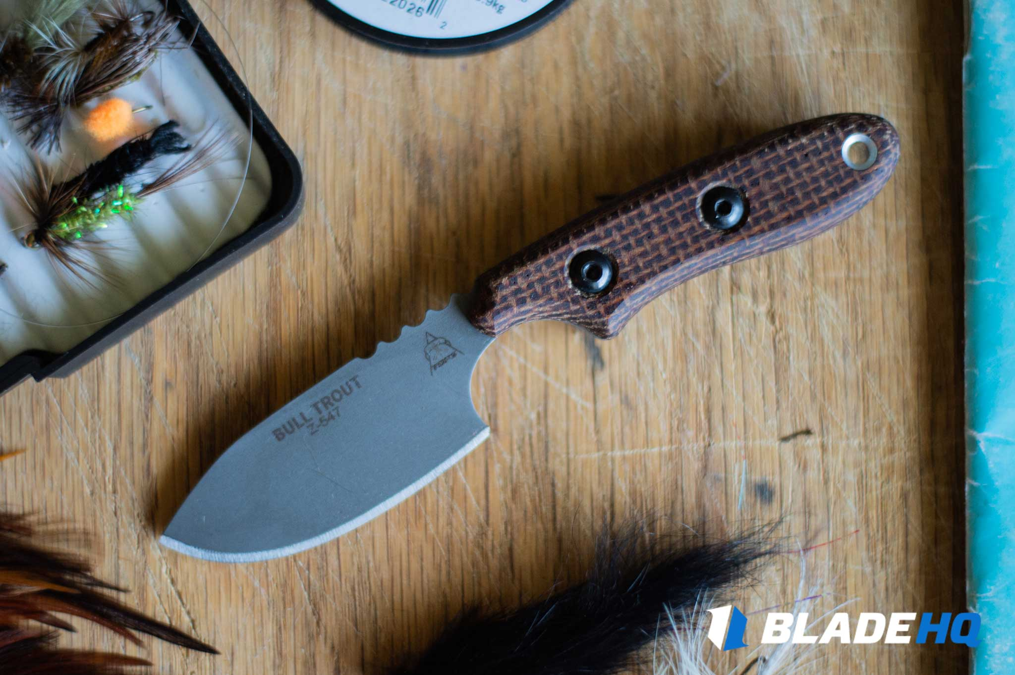 TOPS Knives Bull Trout Knife Life