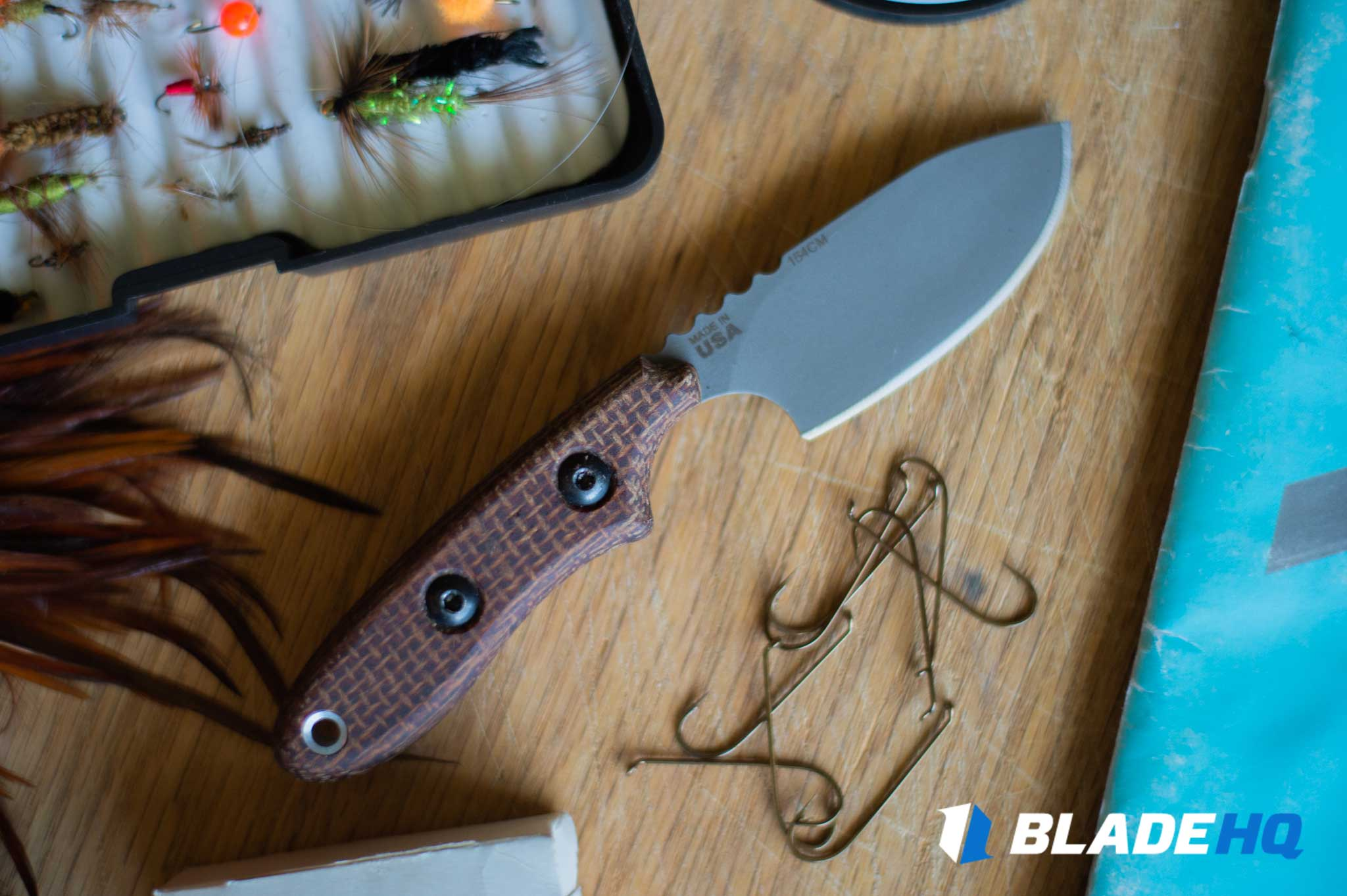 TOPS Knives Bull Trout Blade