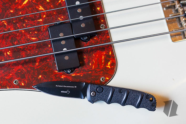 Boker Kalashnikov on Bass Guitar