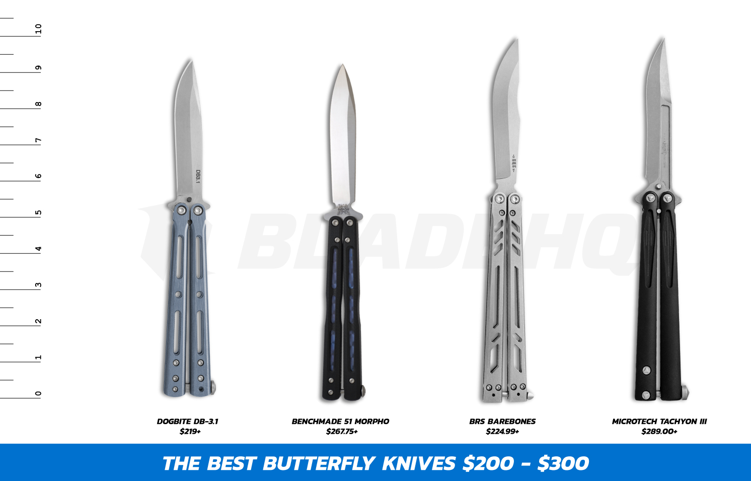 Best Butterfly Knives $200-$300