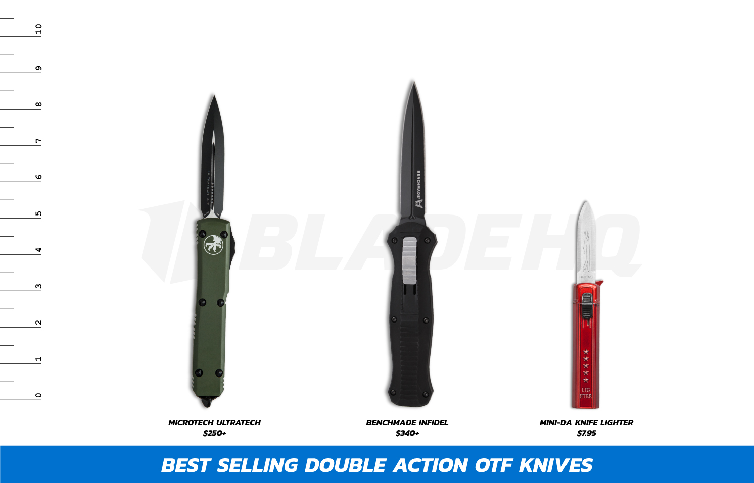 Most Popular Double Action OTF Knives