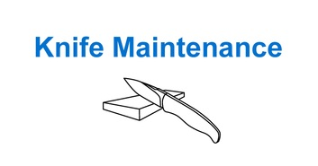 Knife Maintenance