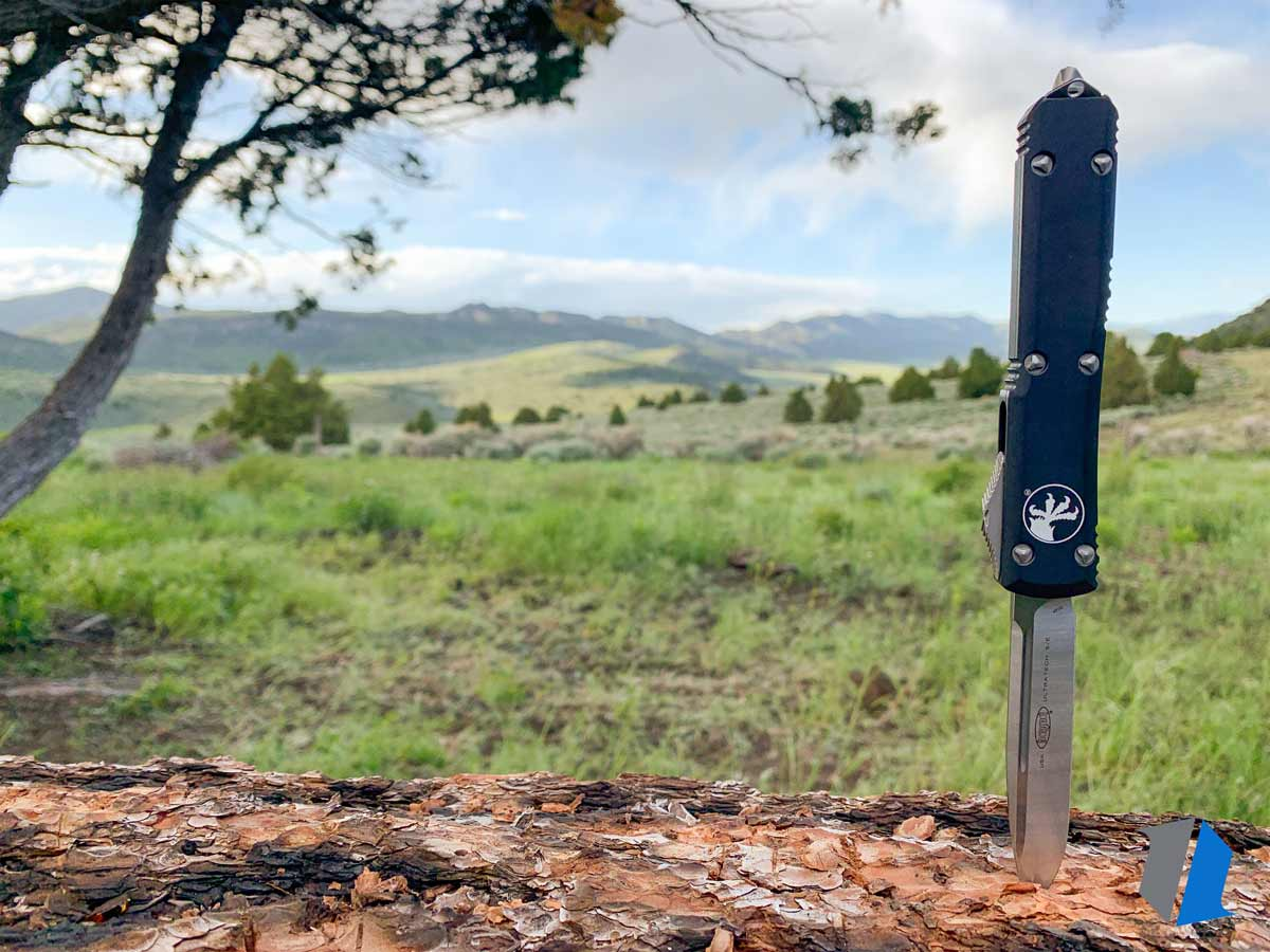 Microtech Ultratech in the outdoors