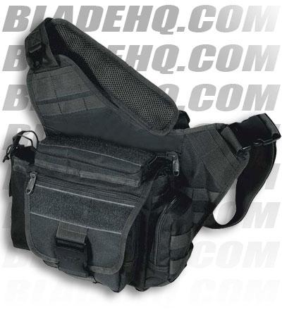 Тактическая сумка на плечо Leapers (ЛИПЕРС) PVC-P218G зеленая/черная UTG...