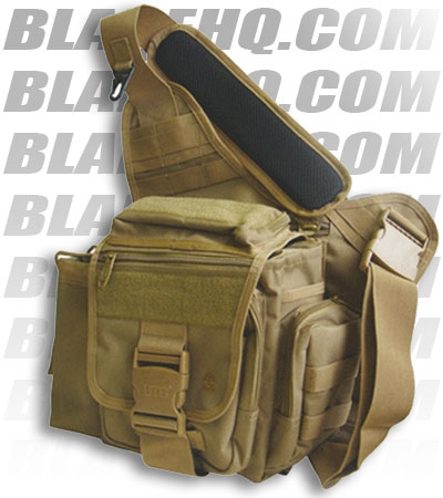Shoulder  on Utg Tactical Messenger Bag Desert Tan Shoulder Sling Pack   Blade Hq