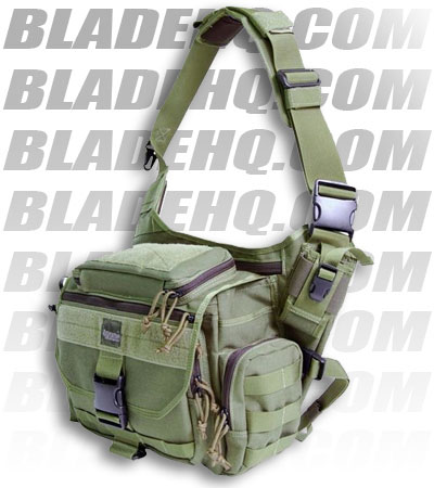 Maxpedition Mongo Versipack Khaki Shoulder Sling Pack Bag 0439K