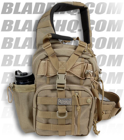 Maxpedition Noatak Gearslinger Khaki Shoulder Sling Bag Pack 0434K ...