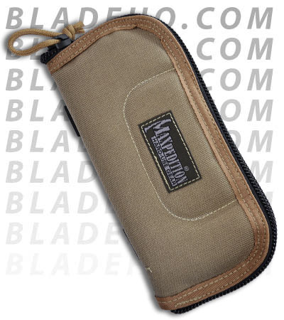 For Reference: Tan Zipper Pouch